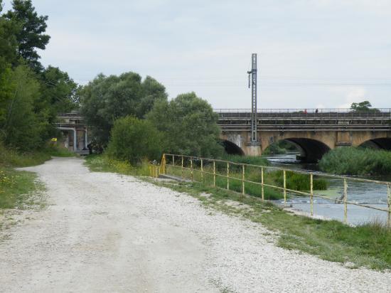 La meurthe et le canal