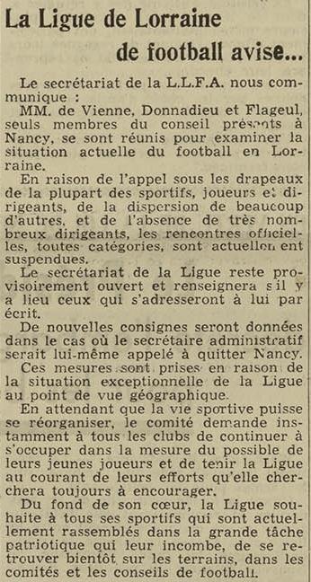 07 septembre 1939