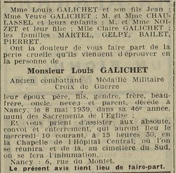 10 mai 1939