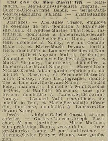 13 mai 1938