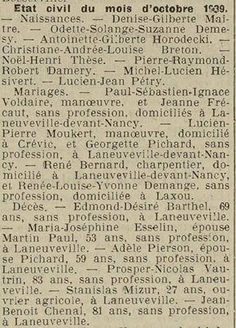 15 novembre 1938