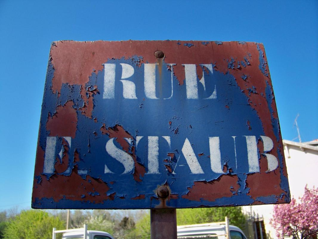 Rue Etienne Staub