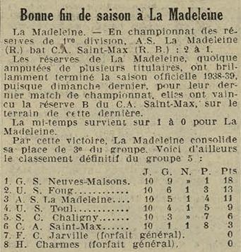 19 avril 1939