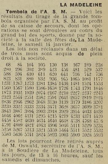 19 janv 1939