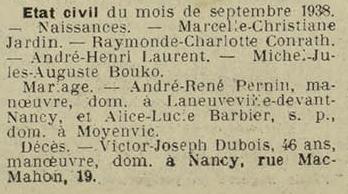 20 octobre 1938
