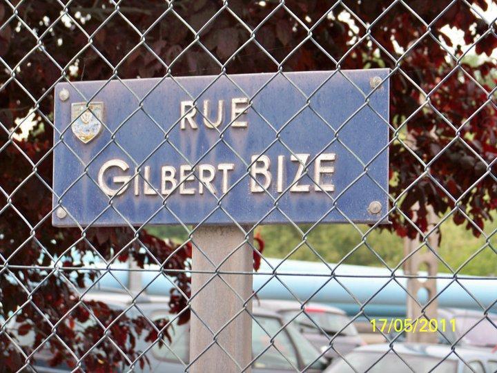 Panneau Gilbert Bize