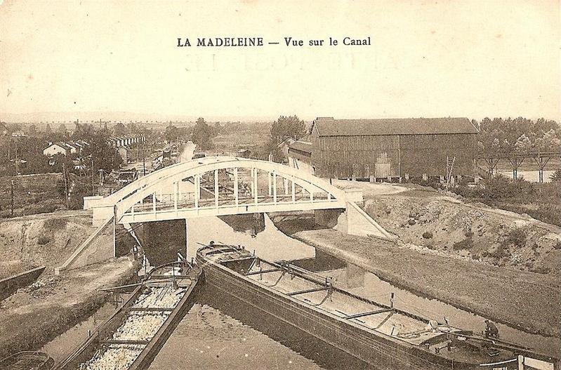 la madeleine pont du canal 54410 saline