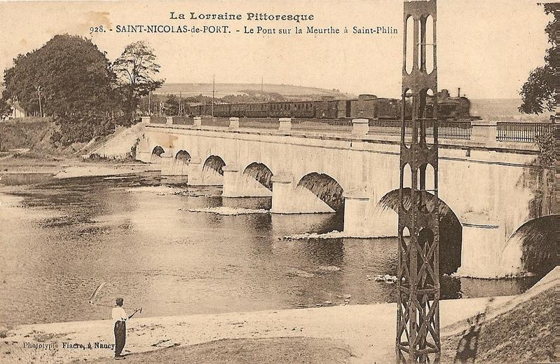 Pont canal meurthe