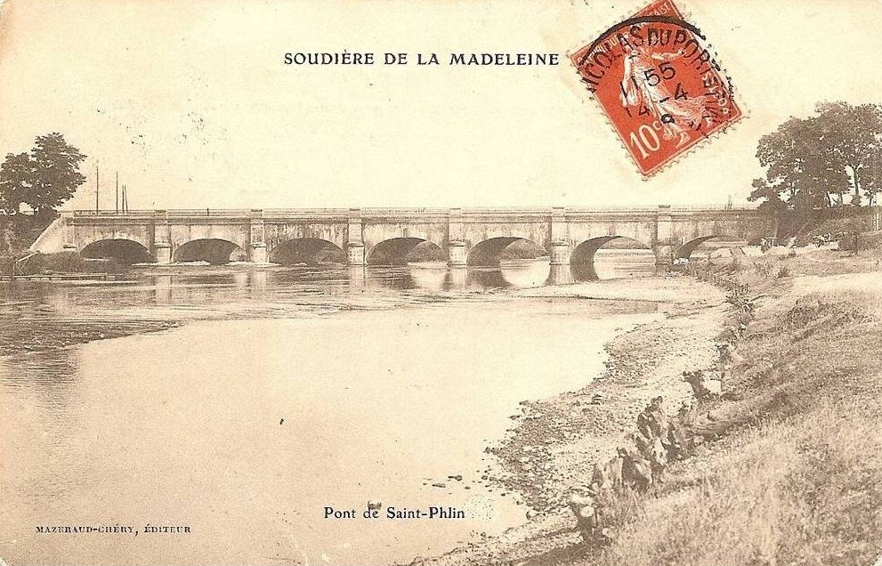 Pont de st phlin