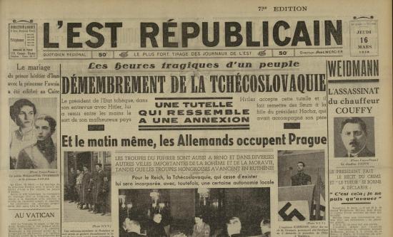 ER 16 mars 1939
