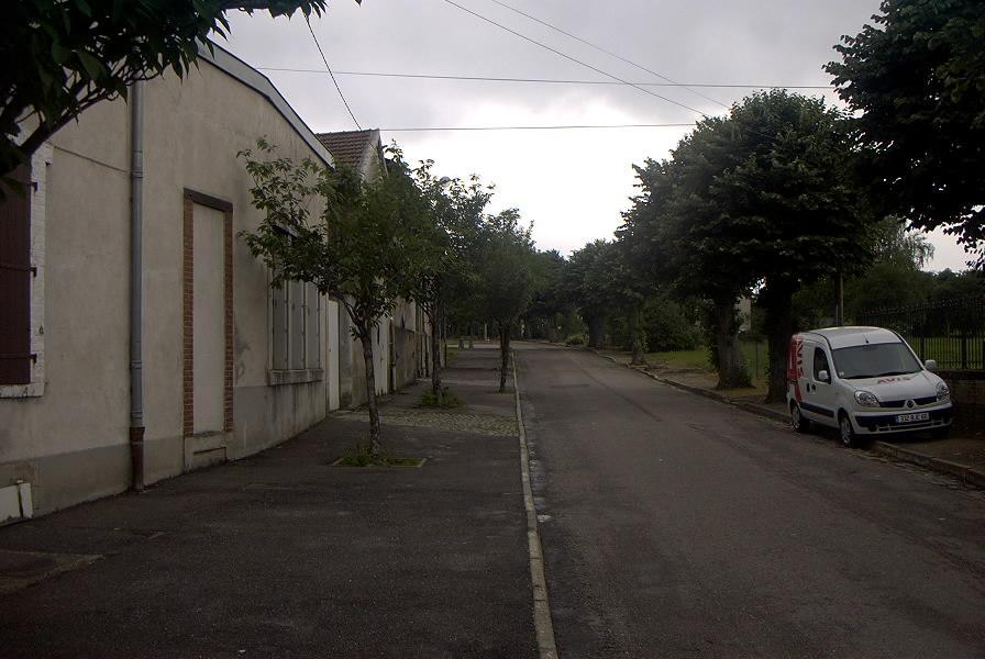 Entree avenue marthe en bas