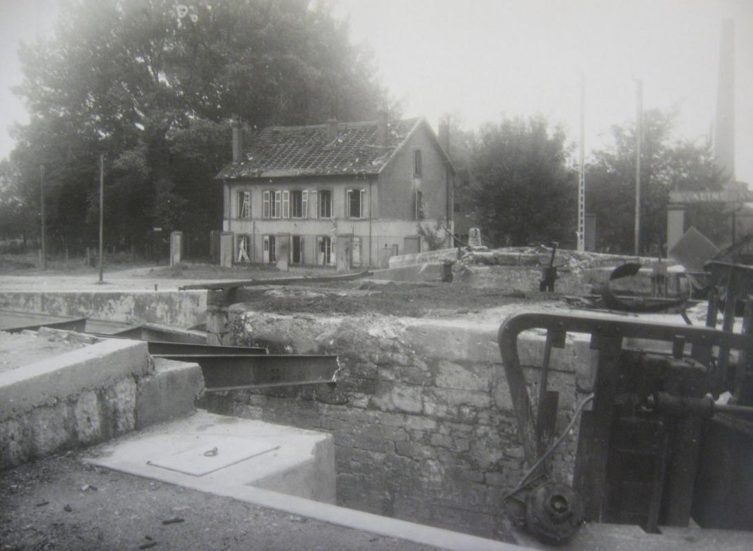 pont de l'ecluse bataille de la Madeleine 54410