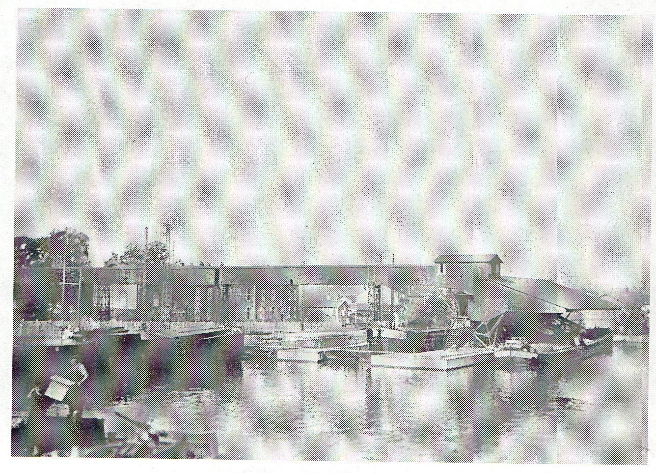 le pont du port de la madeleine 54410