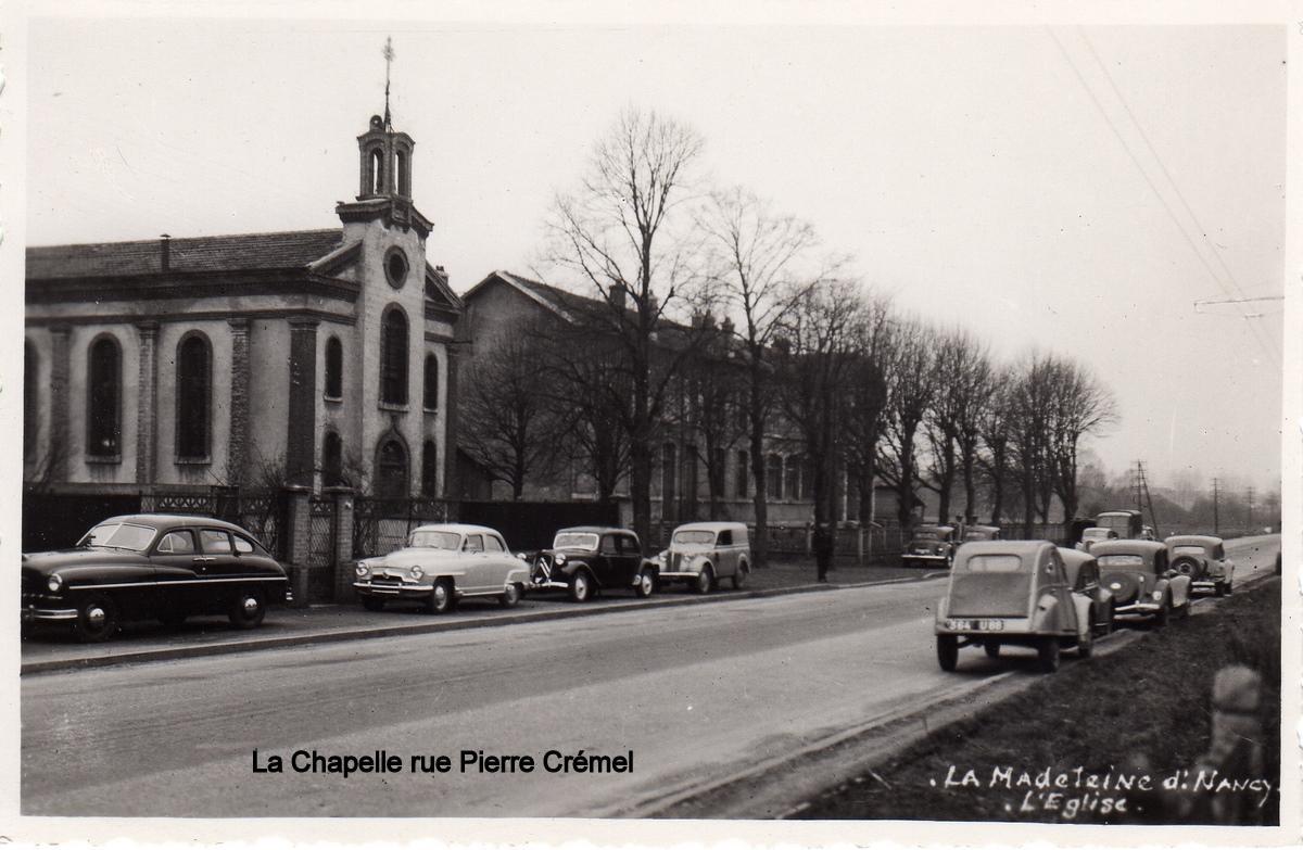 La chapelle rue pierre cremel