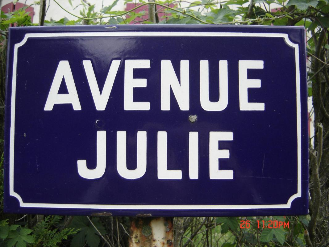 Panneau julie