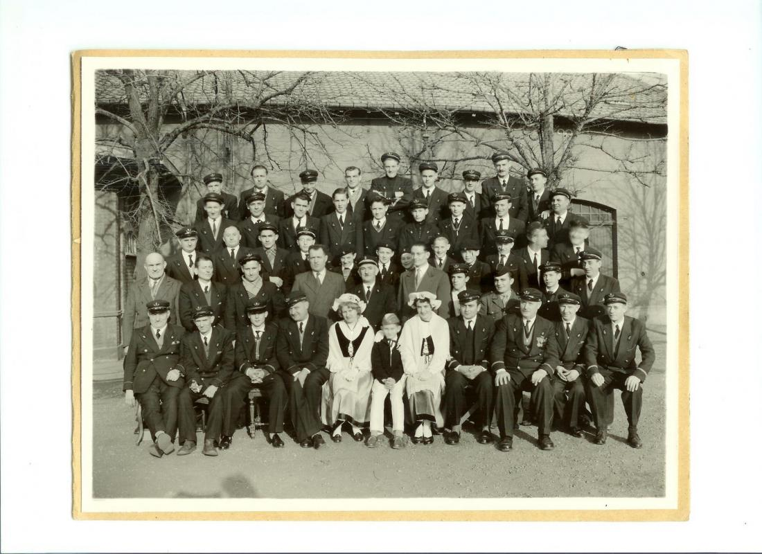 Photo ste cecile 1957 harmonie de la madeleine 2