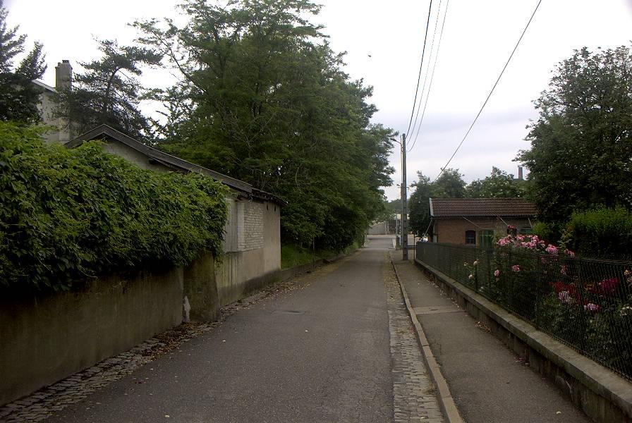 Vue de la rue daniel serruys 1
